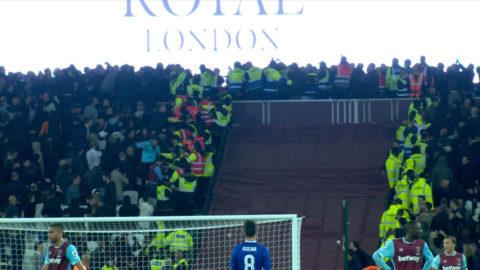 "TV: Skandalscener efter Londonderbyt - ""Problem vid varje match"""