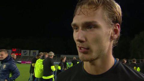 """Wahlqvist: """"Vi ska inte gå vidare egentligen - men gör det. Det är oerhört starkt"""""""