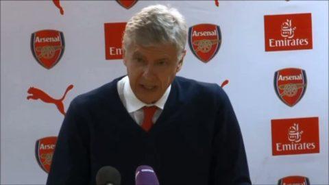 Wenger frustrerade efter kryss mot Middlesbrough