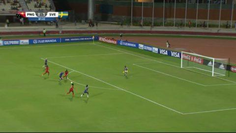 Anvegard utökar Sveriges ledning till 6-0