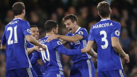 Chelsea fortsätter ösa in mål på Stamford Bridge