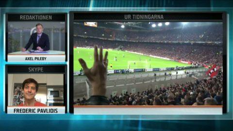 Det sjöng Ajax-fansen om Guidetti - skrek könsord