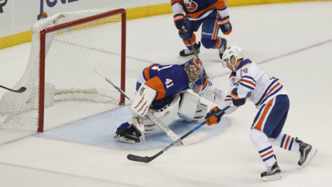 Efter Islanders drömstart - Oilers reste sig och bröt negativa sviten