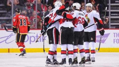 Erik Karlssons assist gav Ottawa extrapoäng