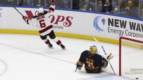 Greene överlistade Nilsson - stor hjälte för Devils