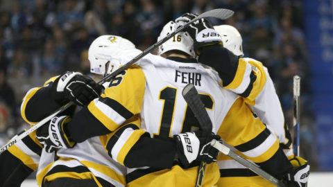 Hagelin med tre assist - låg bakom Pittsburghs övertygande seger