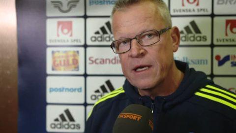 """Janne Andersson om Forsberg frisparksmål: """"Jag ska ha assisten"""""""