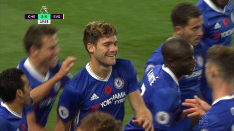 Mål: Chelsea utökar direkt - en minut efter ledningsmålet (2-0)