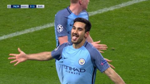 Mål: City utökar - Guendogan slår till igen (3-1)