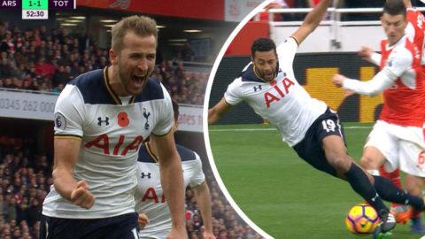 MÅL: Kane tillbaka från skada - kvitterar från elva meter