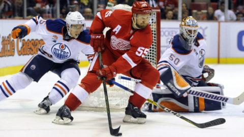 Sammandrag: Detroit Red Wings-Edmonton Oilers (1-2)