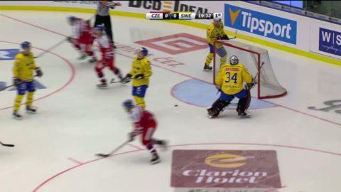 Tjeckien körde över Tre Kronor  i Karjala Tournament
