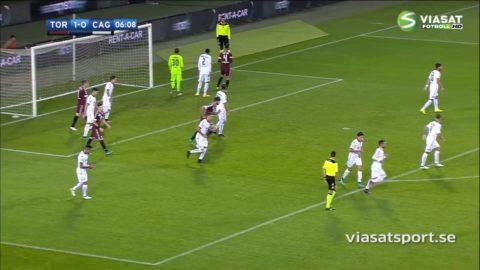 Torino krossade Cagliari - vann med 5-1
