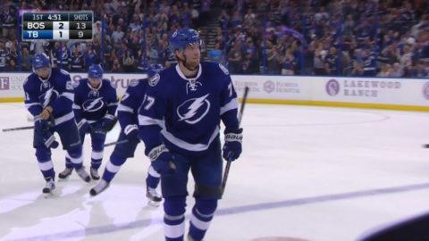 TV: Hedman reducerar mot Boston - i power play