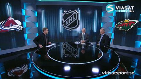 TV: Jihde hyllar Landeskog - för hans fläckfria engelska