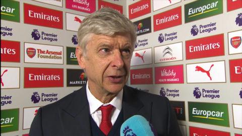 """Wenger om omdiskuterade målet: """"Jag är inte linjedomare"""""""