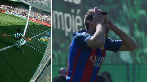 "Barcelona rånade på mål: ""Inne med en meter"""