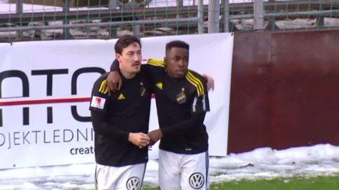 Höjdpunkter: 17-åring målskytt när AIK körde över Vasalund