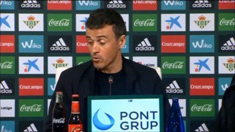 """Luis Enrique vädjar efter Barca blåstes på mål: """"Domarna behöver hjälp"""""""