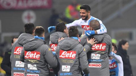 Napolis rivstart gav tre poäng i toppmötet