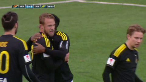 Sundgren fixar straff och gör själv 2-0