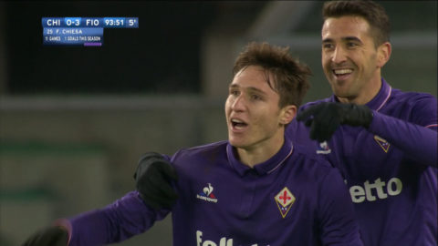 TV: Fiorentina säkrade tre poäng på bortaplan