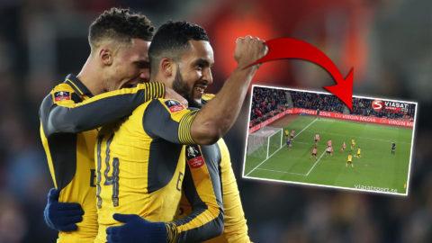 Walcott slår till igen - utökar enkelt för Arsenal