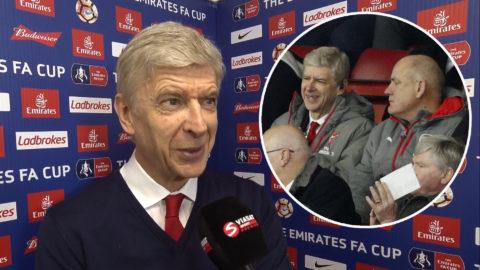 """Wenger: """"Det är inte det viktigaste"""""""