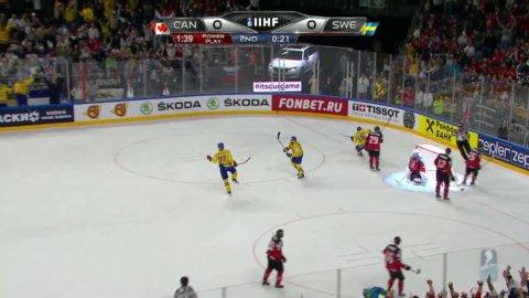 Hedmans lyftning ger 1-0 för Tre Kronor