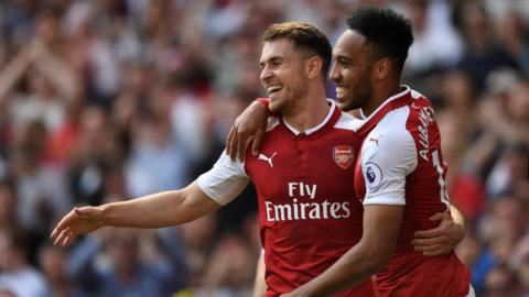 Arsenal vann derbyt - efter mäktiga andra halvleken