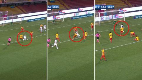 Atalnta tog tre enkla mot bottenlaget - Gomez i fokus efter drömmål