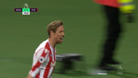 Crouch utnyttjar Harts tabbe - bäste PL-målskytten någonsin för Stoke