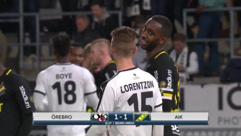 Höjdpunkter: ÖSK snuvade AIK på segern - när Stefanelli såg rött