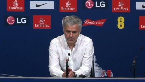 """Mourinho: """"Att sluta tvåa bakom en oåtkomlig vinnare är bra"""""""