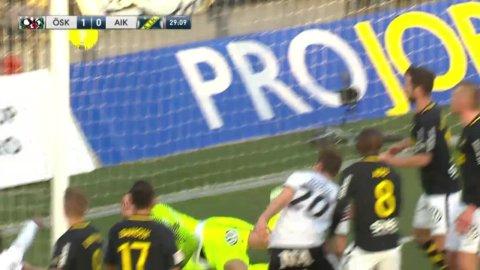 ÖSK chockar AIK - Lorentzson målskytt mot ex-klubben