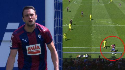 """Spanjorens sensationella miss: """"Hur kan han inte göra mål där?"""""""