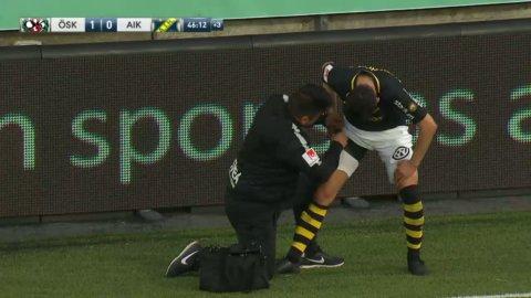 Tarik Elyounoussi kliver av skadad mot Örebro