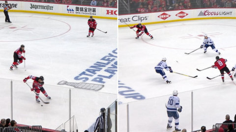 Urläckra hockeymålet: Stjärnan tar fart – då kan inget stoppa honom