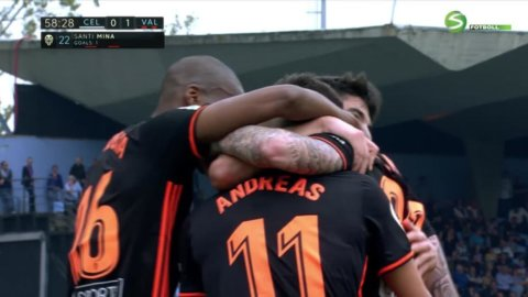 Valencia tappar mark på Real Madrid trots vackert mål