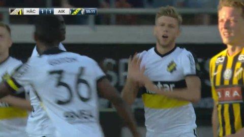 Salétros placerar in 1-1 för AIK