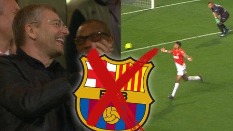 Supertalangen värvades från Barcelona - slog till med drömmål för Monaco