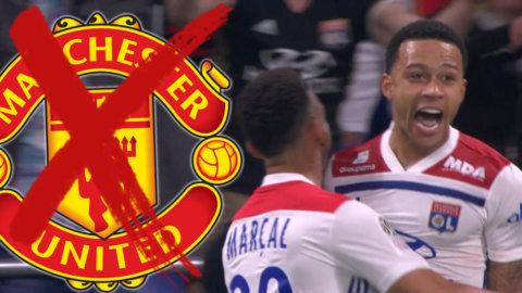 United-floppens dundersuccé - lekstuga när han sköt Lyon till Champions League