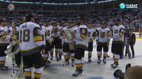 Vegas firar sin första titel - går till Stanley Cup-final sitt första år