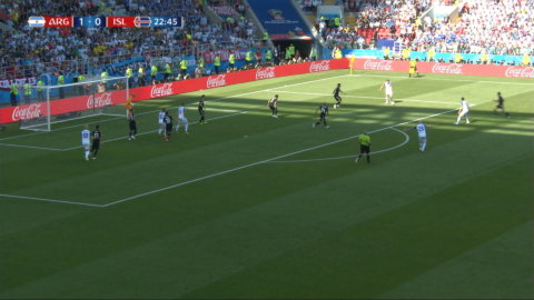 Finnbogason kvitterar mot Argentina