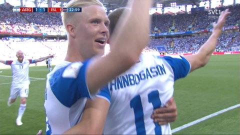 Höjdpunkter: Island skrällde i historiska VM-perimären