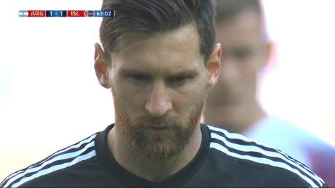 Messi bränner straff