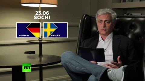 """Mourinho: """"Sverige har inte tillräcklig talang i offensiven för att hota Tyskland"""""""