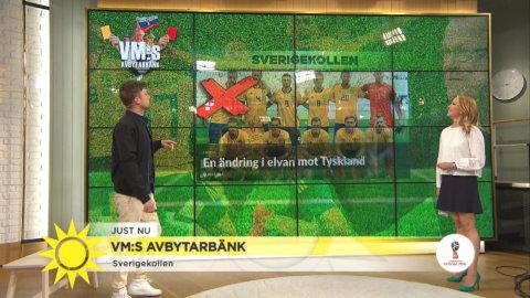 VM:s Avbytarbänk - Tyskland har inte förlorat två vm-matcher i rad sen 1958
