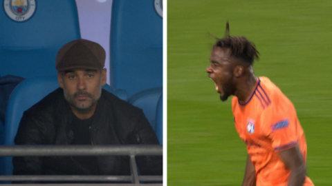 Guardiolas mardröm från läktarplats - Lyon kör över City