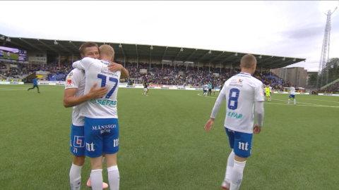 Höjdpunkter: Simon Thern matchhjälte när Norrköping spräckte AIKs svit